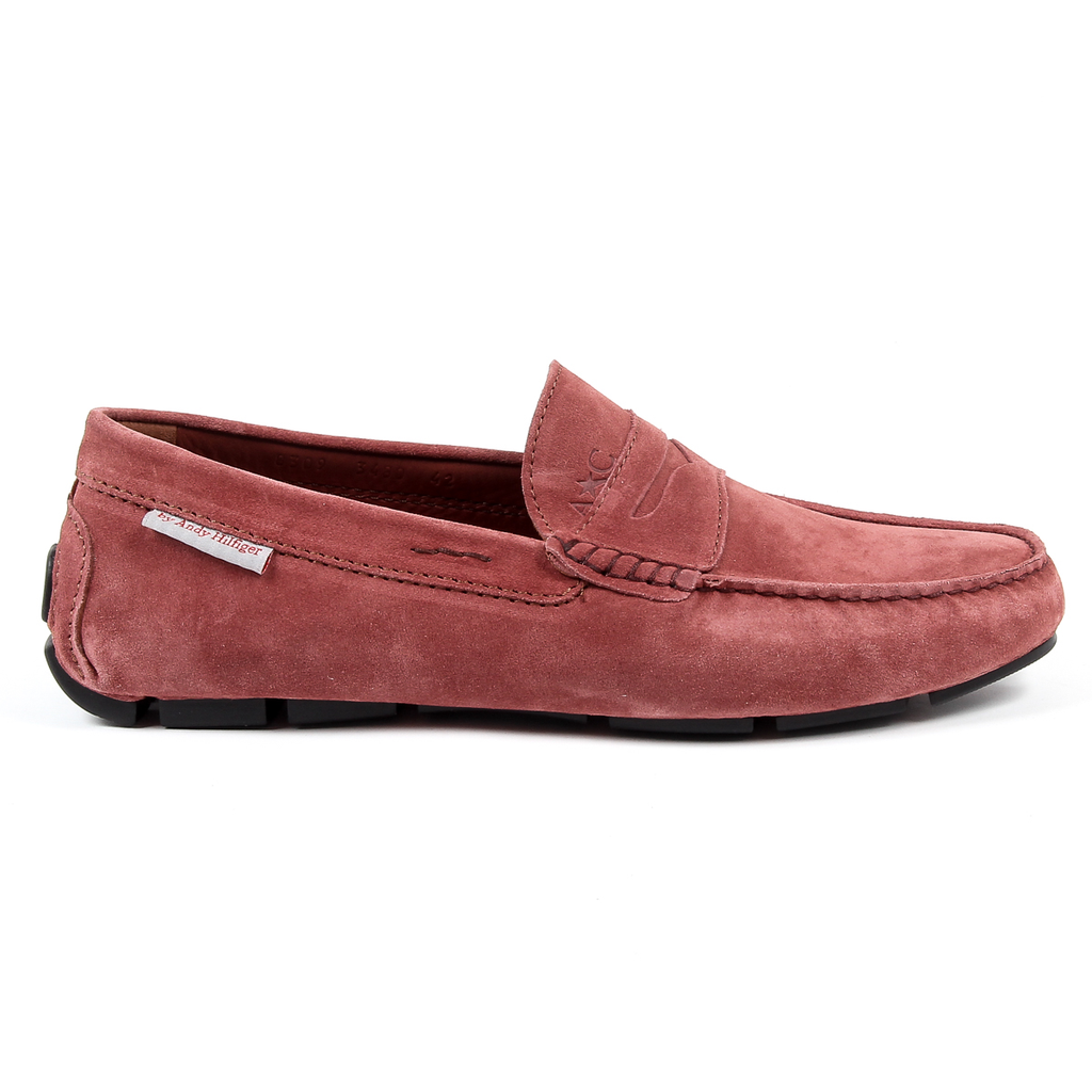 Andrew Charles Mens Loafer Pink JACKSON