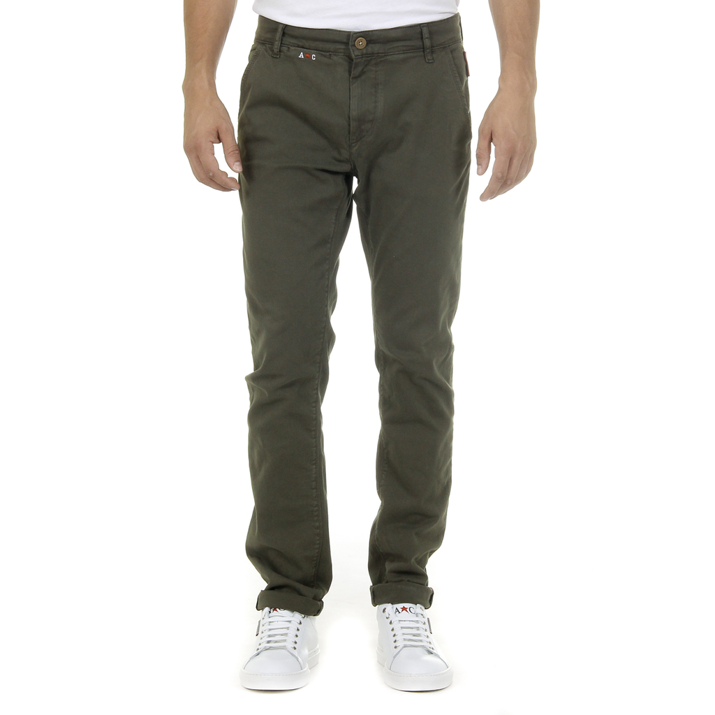 Andrew Charles Mens Pants Green AMARA