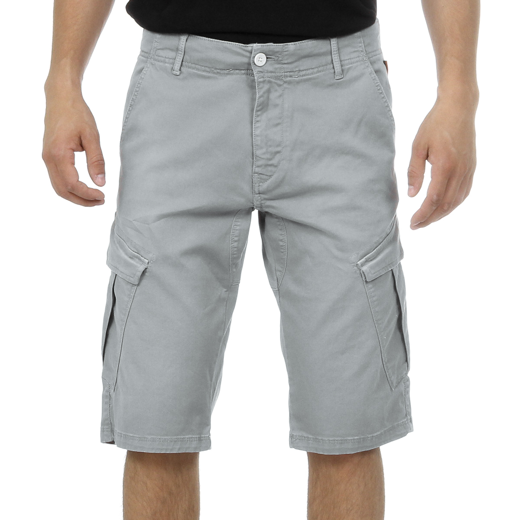 Andrew Charles Mens Shorts Light Grey JAKO