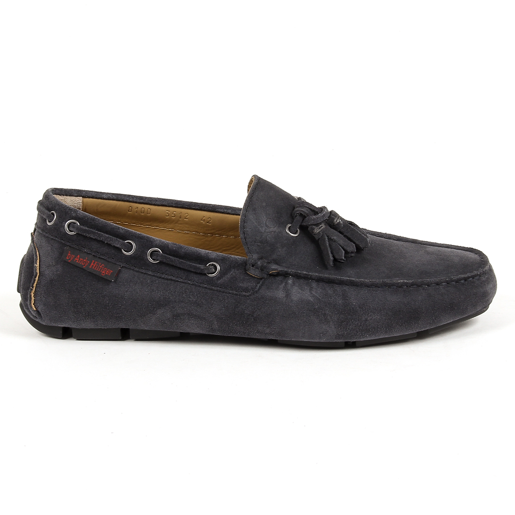 Andrew Charles Mens Loafer Dark Grey JEREMY