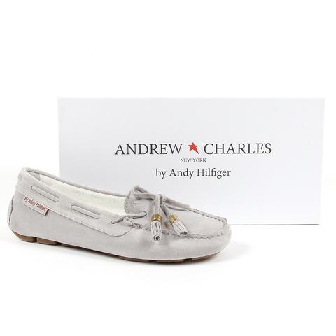 Andrew Charles Womens Loafer Grey VICTORY