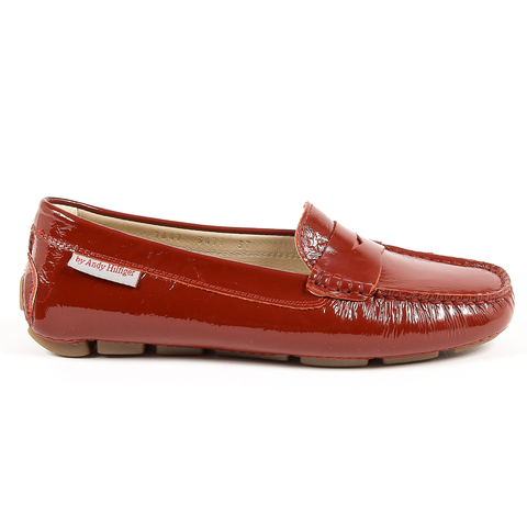 Andrew Charles Womens Loafer Bordeaux MAX