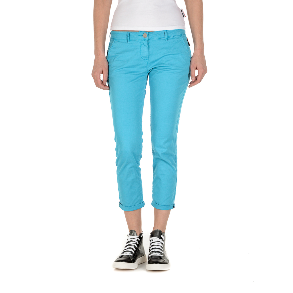 Andrew Charles Womens Pants Light Blue PENDA