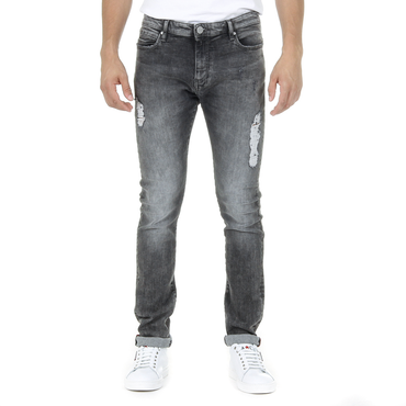 Andrew Charles Mens Jeans Dark Grey THOMAS