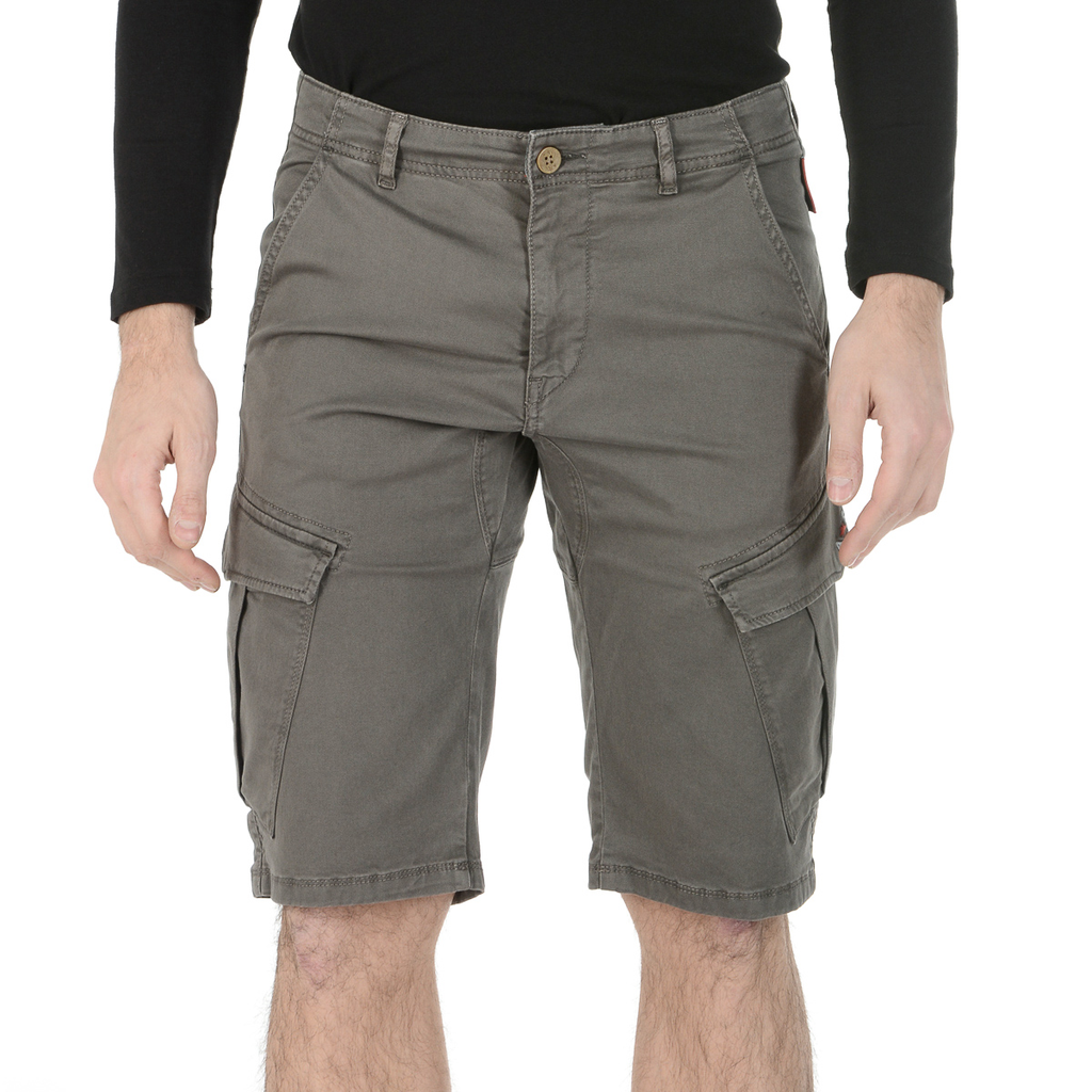Andrew Charles Mens Shorts Brown JAKO