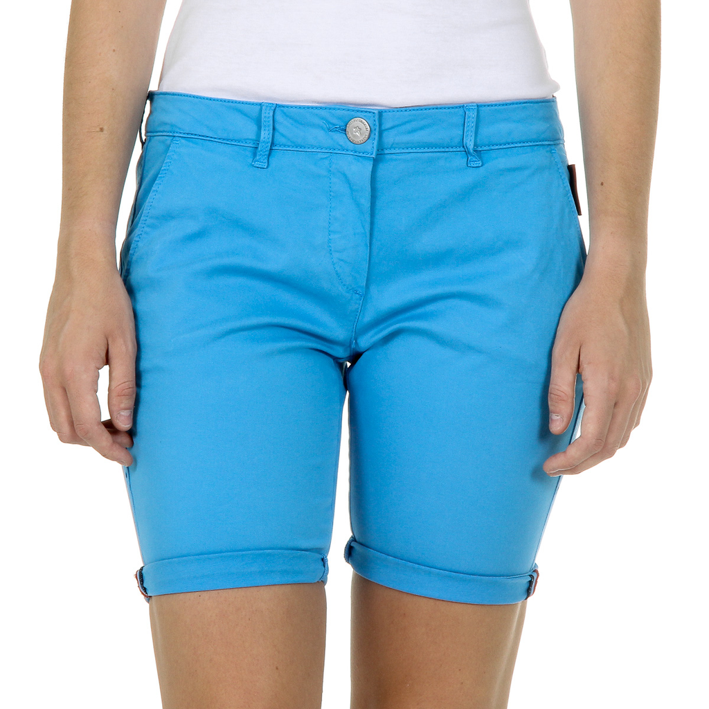 Andrew Charles Womens Shorts Light Blue SAFIA