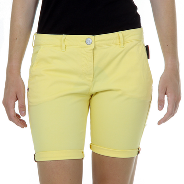 Andrew Charles Womens Shorts Yellow SAFIA
