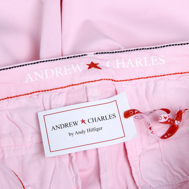 Andrew Charles Womens Shorts Pink SAFIA