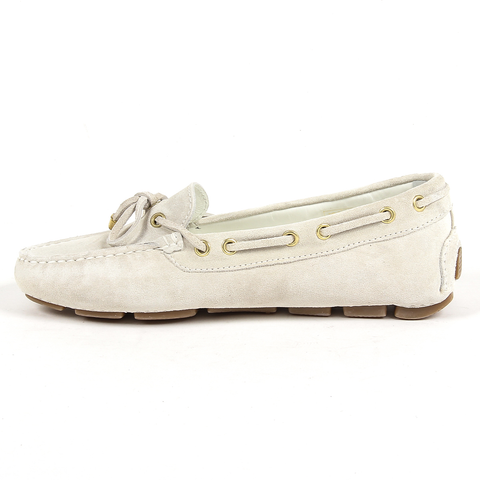 Andrew Charles Womens Loafer White SUNDAY