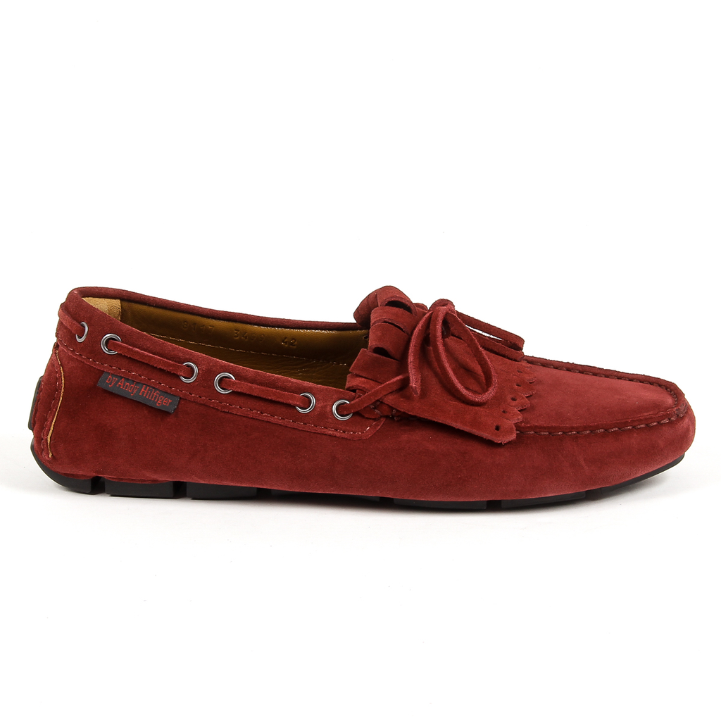 Andrew Charles Mens Loafer Red JETT