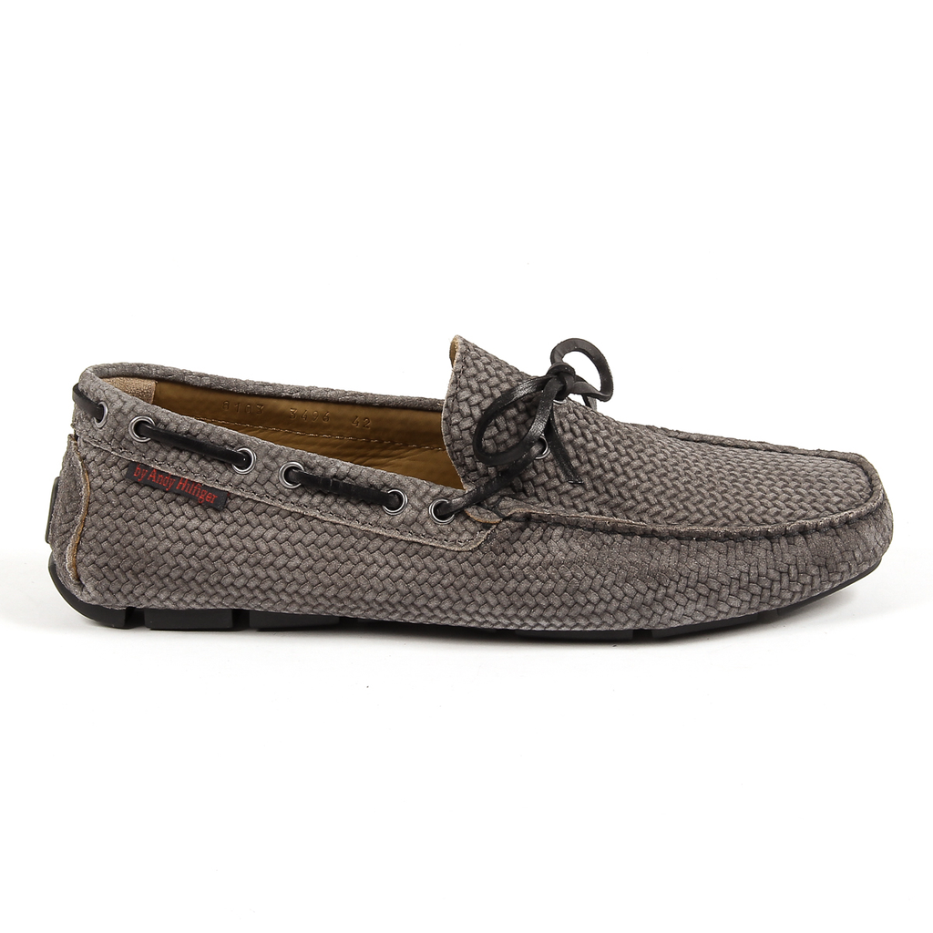 Andrew Charles Mens Loafer Grey STEVE