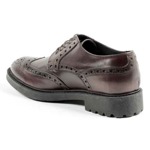 Andrew Charles Mens Classic Shoe Brown EDDIE