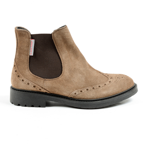 Andrew Charles Mens Ankle Boot Taupe BOB