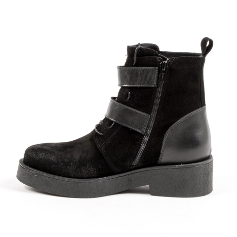 Andrew Charles Womens Ankle Boot Black JOAN