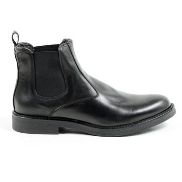 V 1969 Italia Mens Ankle Boot Black HIERRO
