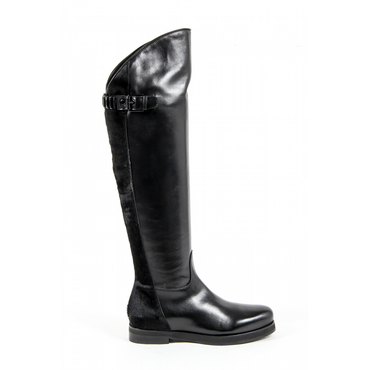 V 1969 Italia Womens Boot Black FAN