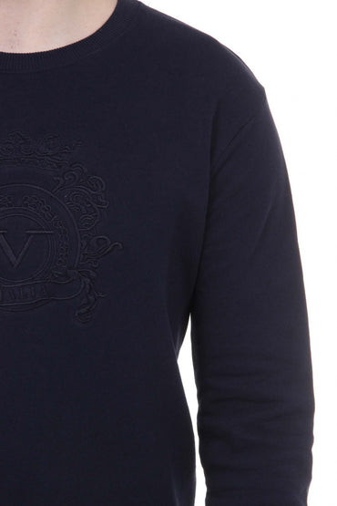 V 1969 Italia Mens Sweater ART. 4469 DARK BLUE