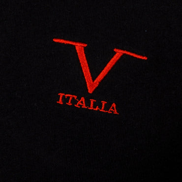 V 1969 Italia Mens Sweater ART. 4470 BLACK