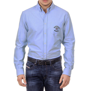 Ufford & Suffolk Polo Club Mens Shirt USC03 C3 AZZURRO SCURO