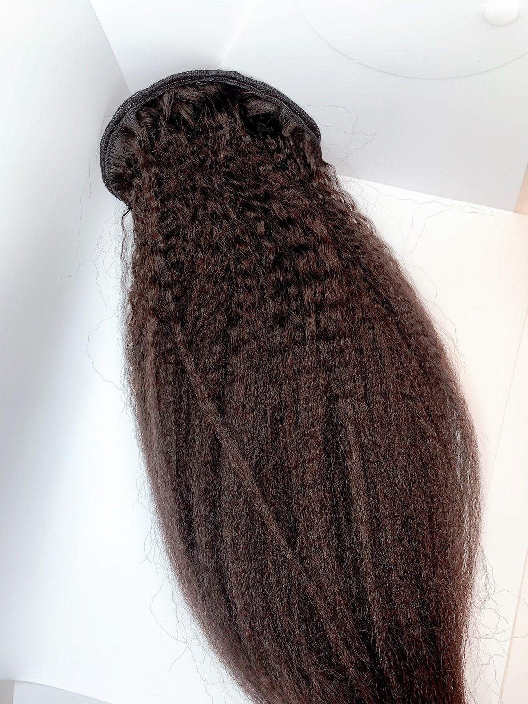 "20"" Kinky Straight Ponytail"
