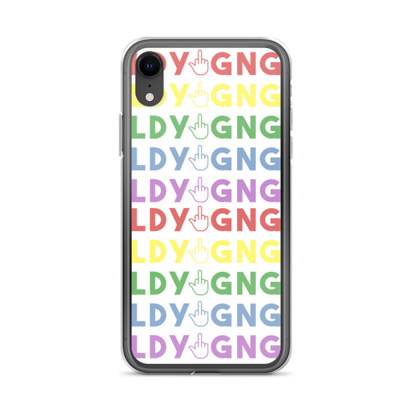 LadyGang Rainbow Phone Case for iPhone XR