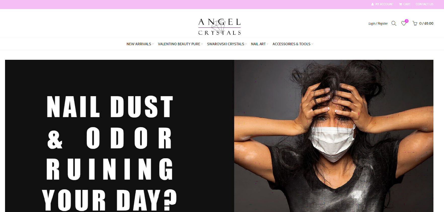 Welcome to the new Angel Crystals website
