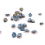 Swarovski Chaton Pointed Back - Air Blue Opal - 4mm - 24pcs