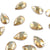 Swarovski® Pear Flat Back - Golden Shadow - 8x5mm - 8pcs