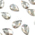 Swarovski® Pear Flat Back - Silver Shade - 8x5mm - 8pcs
