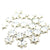 Swarovski® Rivoli Snowflake Flat Back - Clear Crystal - 5mm - 12pc