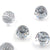 Swarovski® Disco Ball Flat Back - Clear Crystal & Comet Argent Light