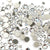 Swarovski Crystal Mixed Pack - Clear/Crystal - 400pcs