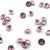 Swarovski® Chaton Pointed Back - Light Rose - 4mm - 24pcs