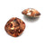 Swarovski® Cushion Cut Pointed Back - Light Smoked Topaz - 10mm - 2pcs