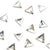Swarovski® Triangle Flat Back - Clear Crystal - 3.3mm - 16pcs