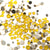 Swarovski Crystal Mixed Pack - Yellow Opal - 400pcs
