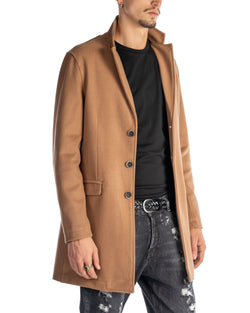 JONH - BASIC CAMEL COAT
