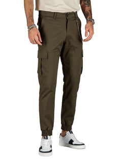 ROY - GREEN CARGO PANTS