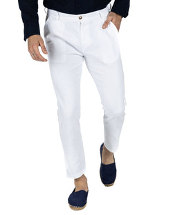 GATSBY - WHITE ARMATURED TROUSERS