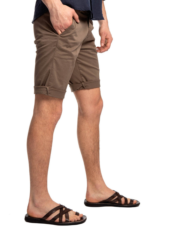Classic shorts in mud - Bermuda - SaveOne