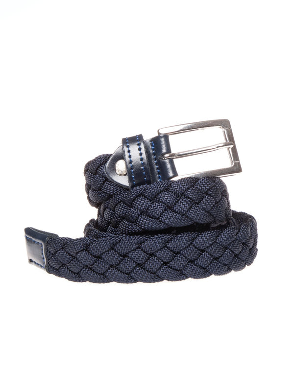 braided rope belt in blu - Cintura - SaveOne