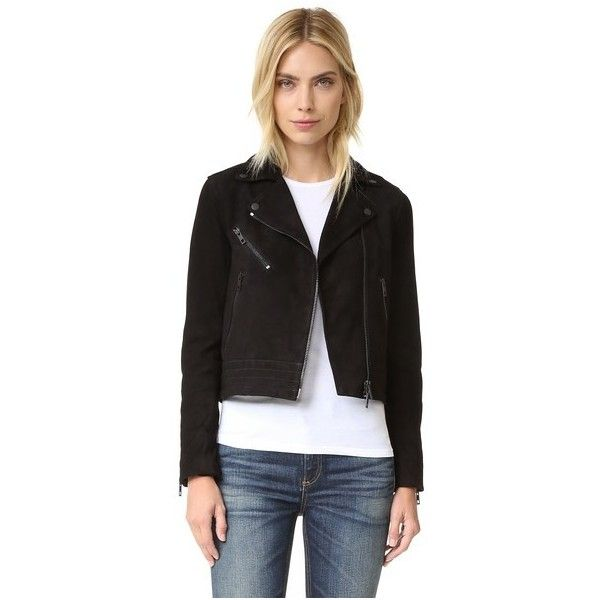 RAG & BONE/JEAN 'Mercer' Suede Jacket