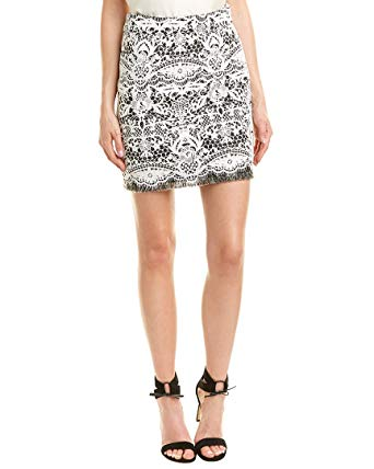 Maje Jeriko Lace Skirt