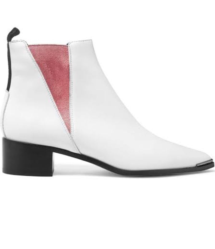 ACNE STUDIOS Jensen Bootie in White