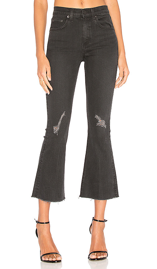 RAG & BONE Blackthorne Crop Flare Jeans