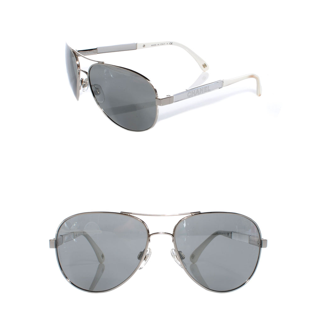CHANEL Aviator Sunglasses 4179
