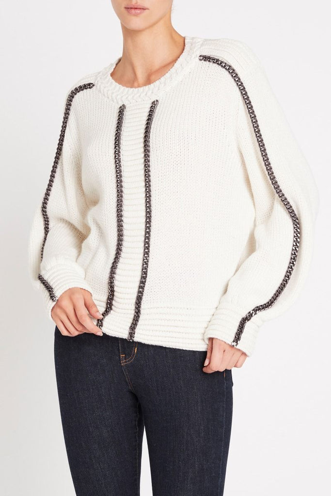 sass & bide THE CHAIN REACTION KNIT