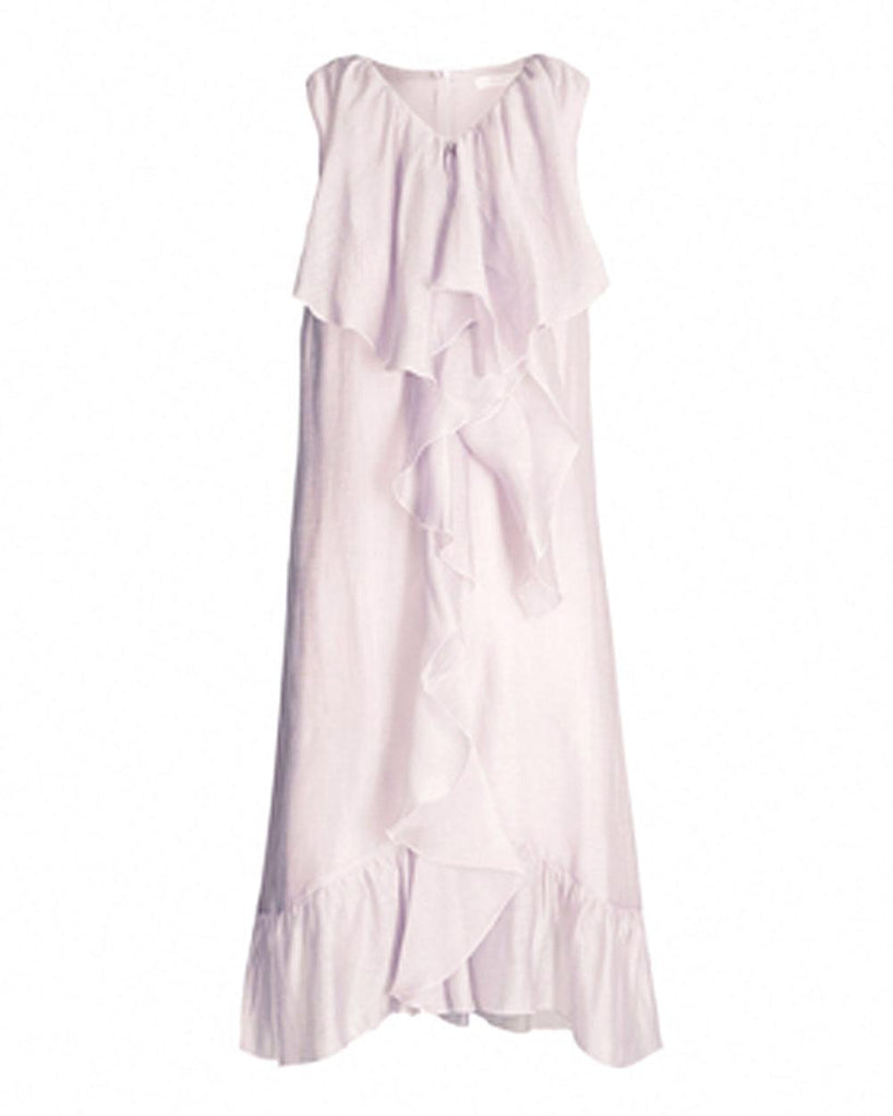 See By Chloe Lavender Frost Flounce Dress