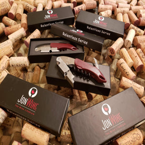 "Wine Corkscrew & bottle opener ""RELENTLESS SERIES"""