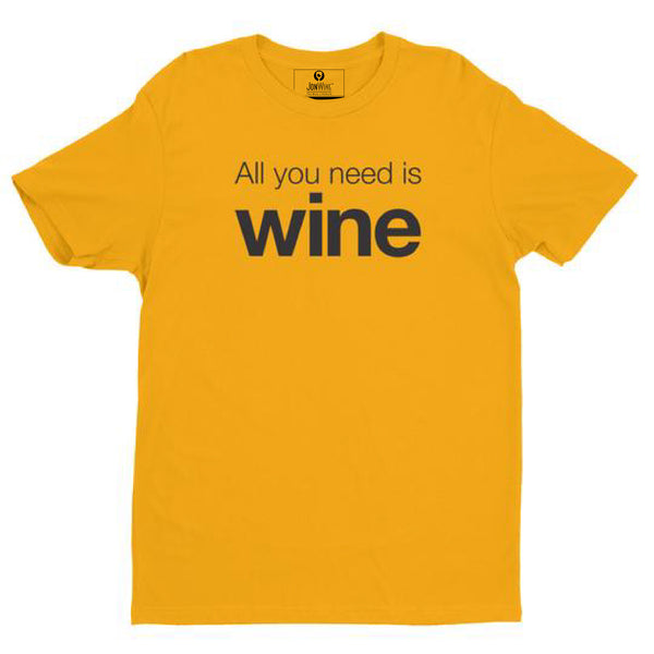 ALL YOU NEED IS WINE (2 colors)